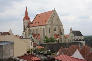 Znojmo. Kostol sv. Mikuláša.