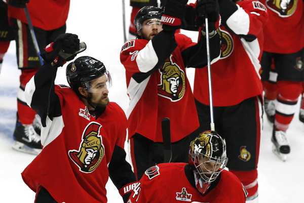 Ottawa je ešte stále v hre o Stanleyho pohár.