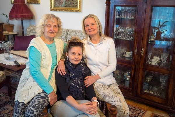 Tri dámy od perníkov: Marta, Bibiána a Alena