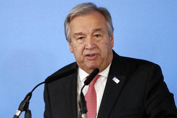 Šéf OSN Antonio Guterres.