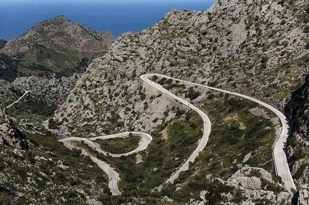 Pre krásnu krajinu a dobré podmienky sa Malorka stáva obľúbená aj pre cykloturistov.