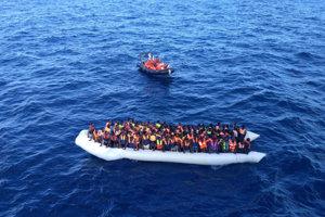 V Stredomorí už zahynulo alebo je nezvestných viac ako 2000 migrantov