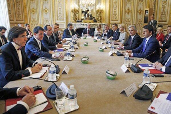 Stretnutie v Paríži.