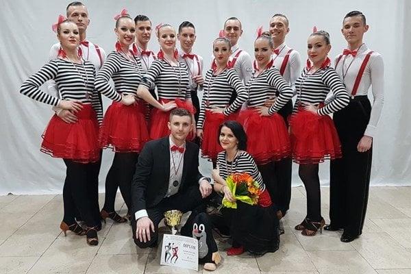 Tanečníci TŠK TOP Žilina.