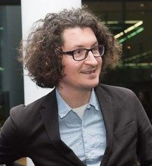 Mirek Tóda, bývalý redaktor Korzára dnes reportér a editor Denníka N.