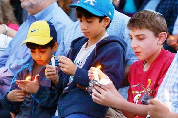 Modlitba za chlapcov.