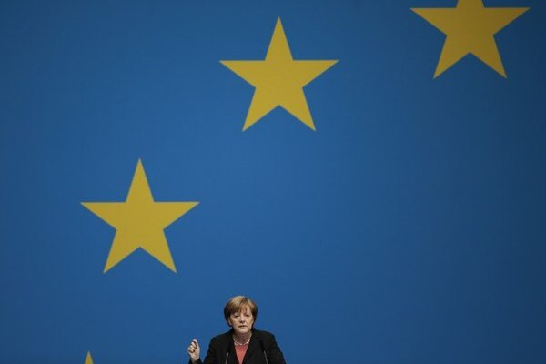 Do kampane pred eurovoľbami sa zapája aj nemecká kancelárka Merkelová.