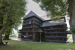 Drevený artikulárny kostol je na zozname UNESCO.