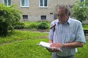 Jozef Zubák zRevúcej. Pre nedôslednosť sa musí srodinou zbytu, za ktorý zaplatili, vysťahovať.
