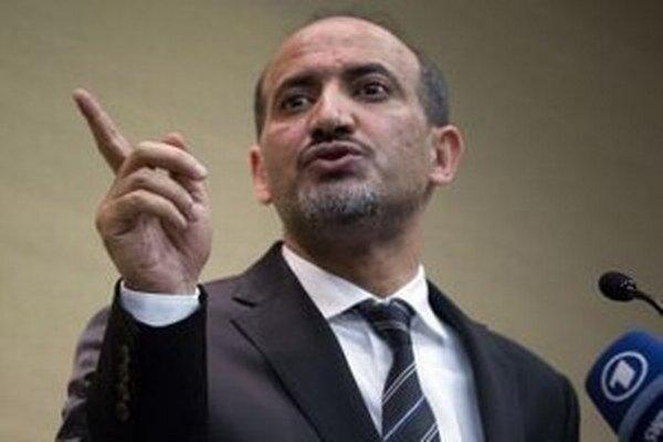 Šéf sýrskej opozície Ahmad Džarba.