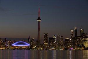 CN Tower v Toronte.
