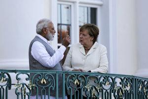 Indický premiér začal návštevu Nemecka, stretol sa s Merkelovou