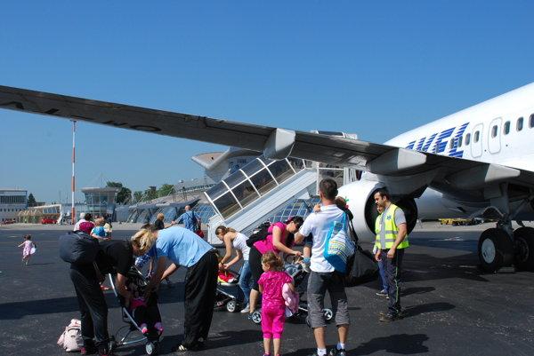 Lietadlo pristálo vKošiciach neplánovane.Cestujúci odleteli do Tel Avivu náhradným strojom.