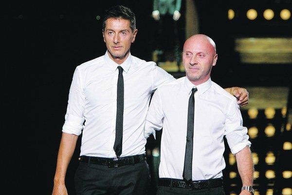 Stefano Gabbana (52) a Domenico Dolce (56).