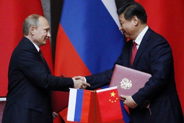 Vladimir Putin a Si Ťin-pching.