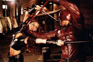 Jennifer Garner ako Elektra vo filme Daredevil.