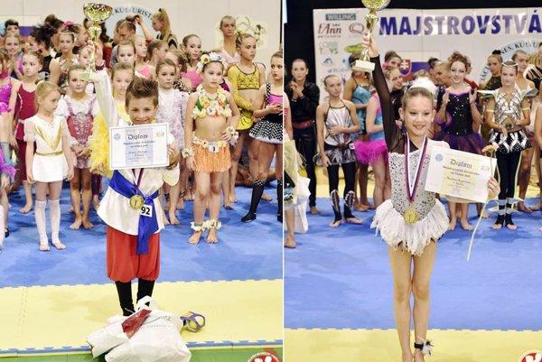 Michal Müllner a Paulínka Bajerlová získali prvenstvo na M-SR.