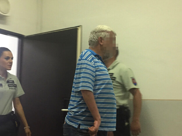 Obvinený muž