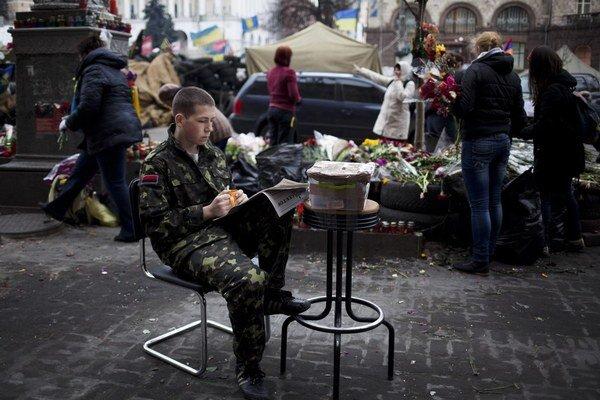 Na kyjevskom majdane, ktorý Porošenko podporoval, je už pokoj.