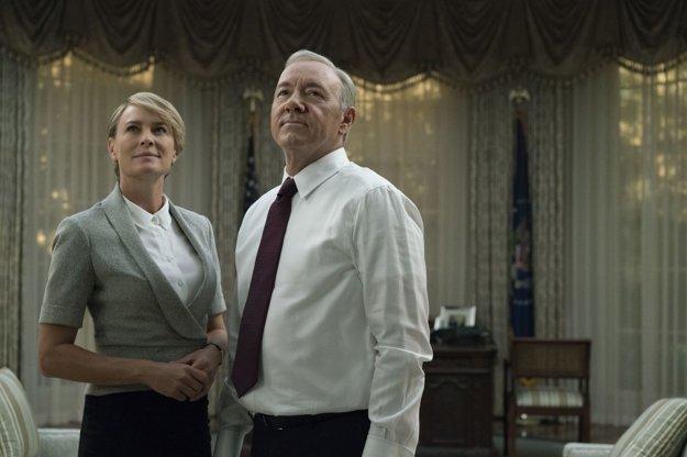 Claire a Frank Underwood v piatej epizóde.