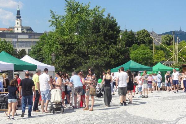 V sobotu žilo mesto Festivalom chutí Nitrianskeho kraja.