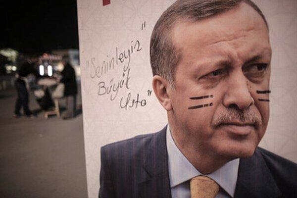 Turecký premiér Erdogan.
