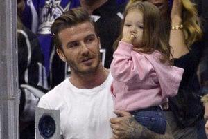 David Beckham s dcérou Harper