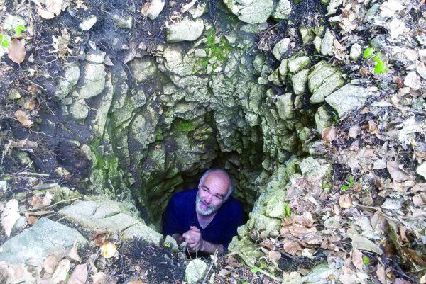 Jaskyniar Gabriel Lešinský.
