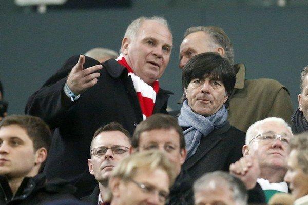 Prezident FC Bayern Uli Hoeness.