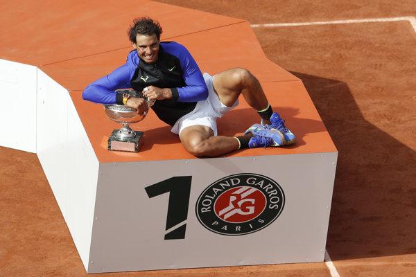 Rafael Nadal figuruje na 2. mieste vo svetovom rebríčku.