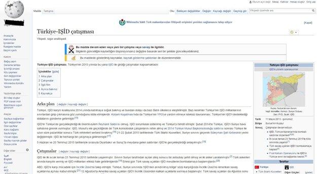 Tureckú verziu Wikipedie si bez VPN servera v Turecku nepozriete. Na cenzúru upozorňujú aj v logu.