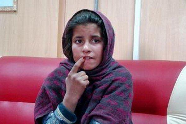 Desaťročné dievča Spozhmai.