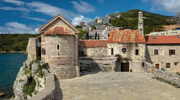 Budva, Čierna Hora.
