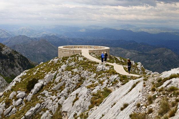 Hora Lovcen, Čierna Hora.