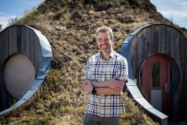 Bjorn Kierulf, nórsky architekt žijúci na Slovensku.