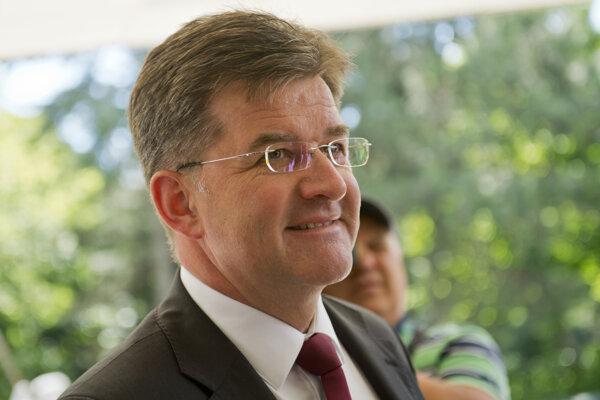 Na snímke minister zahraničných vecí a európskych záležitostí Miroslav Lajčák.