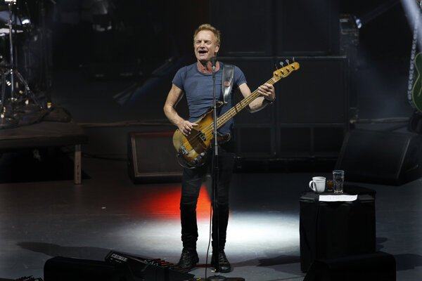 Britský hudobník a spevák Sting.