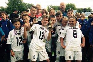 Tím FC Nitra U13 pod vedením trénera Jozefa Paľa sa stal víťazom turnaja.