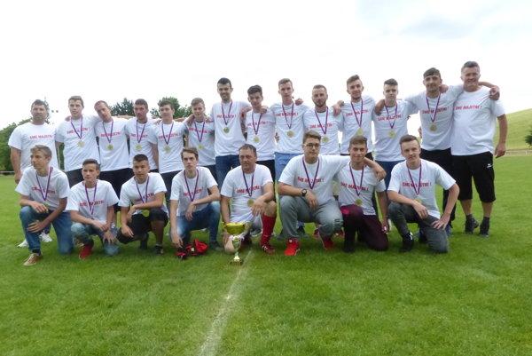 Dorastenci TJ FC Družstevník Rybky - víťaz MO ObFZ Senica