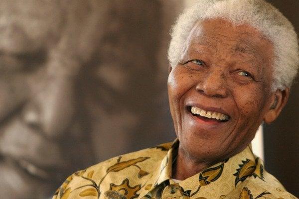 Nelson Mandela (1918 - 2013).