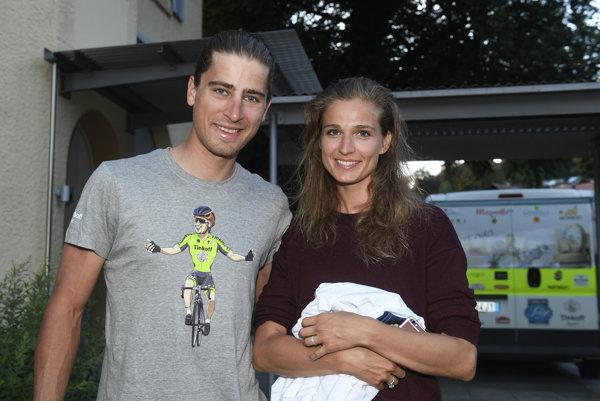 Peter Sagan s manželkou Katarínou.