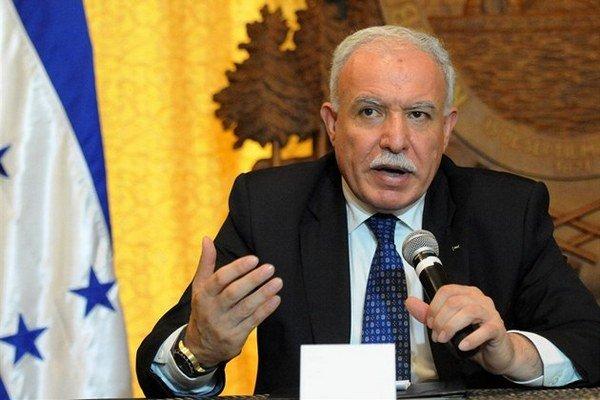 Palestínsky minister zahraničia Rijád Málikí tvrdí, že trezoru sa roky nikto nedotkol.