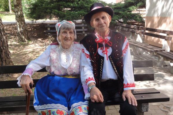 Helena a Jozef Grácovci oslávili požehnanú platinovú svadbu.