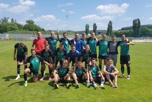 Dorastenci FK Senica U19 po úspešnej baráži s Lokomotívou Zvolen.