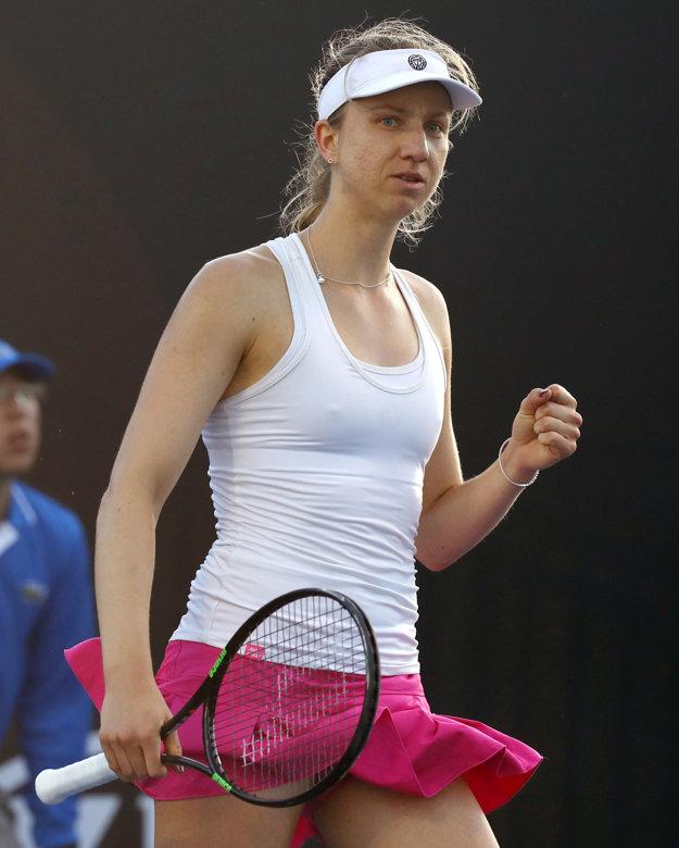 Nad sily slovenskej tenistky bola Mona Barthelová.