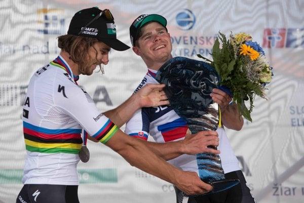 Peter Sagan (vľavo) a jeho brat Juraj.