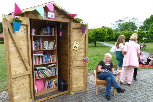 V Parku M. R. Štefánika otvoria ďalší ročník prázdninovej knižnice.