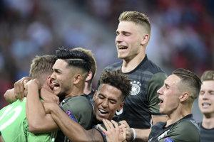 Mladí Nemci postúpili do finále.