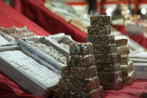 Turecké sladkosti sú obľúbenou maškrtou aj suvenírom.
