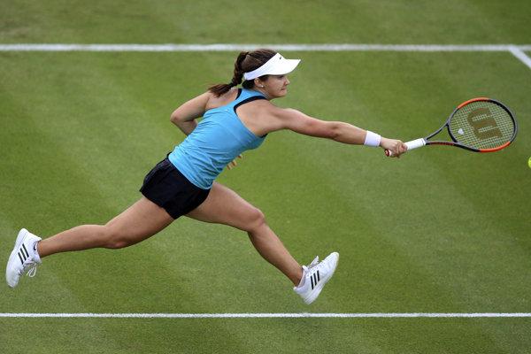 Lauren Davisová postúpila do osemfinále v Eastbourne.